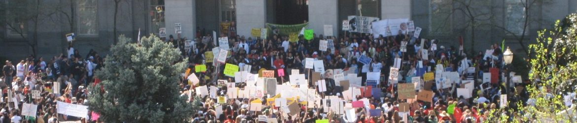 Higher Education Demonstration, Sacramento, March 22, 2010